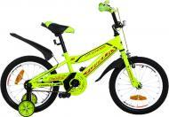 Велосипед дитячий Formula Cross 16 зелений із помаранчевим RET-FRK-16-009