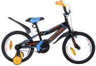 Велосипед детский Formula Cross 16 черный с синим RET-FRK-16-010