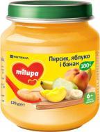 Пюре Milupa яблуко, бабан і персик 125 г