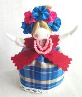 Кукла-мотанка КЛЮЙ На Счастье 7 см Разноцветная (K0066)