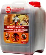 Огнебиозащита Вогнебіощит антипирен-антисептик для внутренних работ красный 5 л