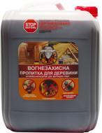 Огнебиозащита Вогнебіощит антипирен-антисептик для внутренних работ красный 10 л