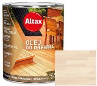 Масло для древесины Altax белый полумат 0,75 л