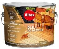 Олія для деревини Altax сірий 2.5 л