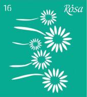 Трафарет багаторазовий самоклейкий №16 3625116 90х100 мм Rosa Talent