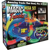 Гоночная трасса Magic Tracks Меджик Трек 360 деталей с мостом и 2 машинками
