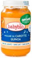 Пюре Babybio органічне з овочів та кіноа, скло, 200 гр 51055