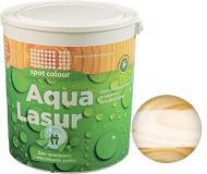 Лазурь Spot Colour Aqua Lasur белое дерево шелковистый мат 0,75 л