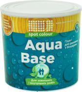 Грунт Spot Colour Aqua Base шелковистый мат бесцветный 0.75 л