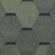 Бітумна черепиця RoofOK Сота зелена 3 кв.м