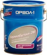 Мастика бутил-каучукова Ореол-1 Гермабутил-2М 3 кг