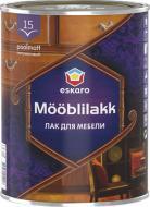 Лак меблевий Mooblilakk 15 Eskaro напівмат 0.9 л безбарвний