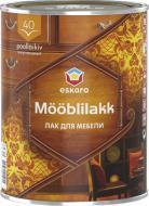 Лак меблевий Mooblilakk 40 Eskaro напівглянець 0.9 л безбарвний