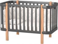 Кроватка детская Veres ЛД 5 Монако темно-серый 05.3.1.21.16