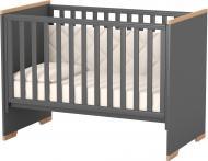 Кроватка детская Veres Сиэтл темно-серый 09.3.1.37.16