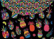 Папка-конверт Black pineapple А4+ 491660 YES