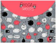 Папка-конверт Yoga sheeps А4+ 491638 YES