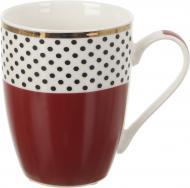 Чашка Polka Dot Red 300 мл Fiora