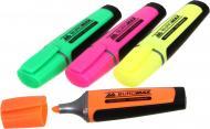 Набір текстових маркерів Buromax флуоресцентні 2-4 мм 4 шт. різнокольоровий