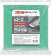 Серветки віскозні PROservice К 32x38 см 5 шт./уп. зелений