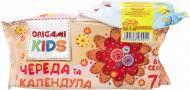 Дитячі вологі серветки Origami Kids Череда і календула + Antibacterial 92 шт.