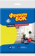Набір серветок універсальні Фрекен Бок 30X38 см см 12 шт./уп. жовтийрожевий