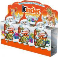 Шоколадні фігурки Kinder «Дід Мороз» 45 г (2222003088016,4008400511528)