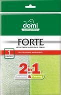 Серветка для прибирання Domi Forte мікрофібра з абразивною сіткою 1 шт./уп.