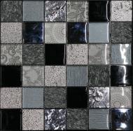 Плитка Intermatex Elements Black 30x30
