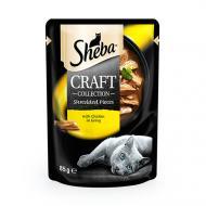 Корм Sheba CRAFT cig POU з куркою у соусі 85 г