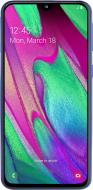 Смартфон Samsung Galaxy A40 SM-A405F 4/64GB Duos ZBD (SM-A405FZBDSEK) blue