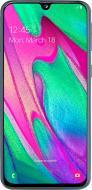 Смартфон Samsung Galaxy A40 SM-A405F 4/64GB Duos ZKD (SM-A405FZKDSEK) black