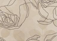 Плитка Golden Tile Isolda світло-бежевий декор №2 7МV151 25x33
