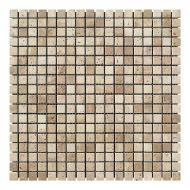 Плитка KrimArt мозаїка Travertin Classic МКР-4С 30,5x30,5