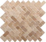 Плитка KrimArt мозаїка Travertin Classic МКР-5С 30,3x32,3