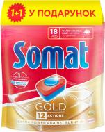 Таблетки для ПММ Somat Gold Duo 18 шт. 0.342+0.342 кг