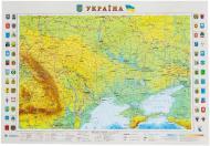 Підкладка для письма карта України М1:2 350 000 65х45 см