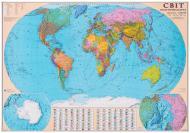 Карта світу політична М1:32 000 000 А0 110*77 см