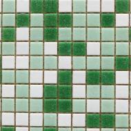 Плитка Guangzhou Glory Building Material Мозаїка мікс зелений 32,7x32,7