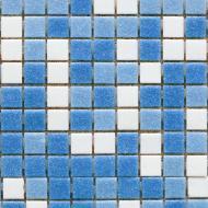 Плитка Guangzhou Glory Building Material Мозаїка мікс світло-блакитний 32,7x32,7