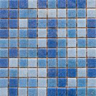 Плитка Guangzhou Glory Building Material Мозаїка мікс темно-блакитний 32,7x32,7