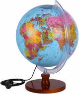 Глобус політичний 32 см з підсвічуванням