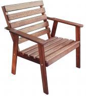 Крісло ДРЕВ-Ко дерев'яне коричневий