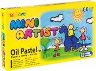 Пастель олійна Mini Artist MOPS-12  MUNGYO 94100641 12 кольорів