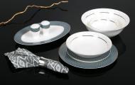 Сервіз столовий Spheric New 28 предметів на 6 персон Fiora