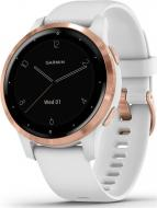 Смарт-часы Garmin Vivoactive 4S White with Rose Gold (010-02172-23)