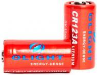 Батарейка Olight CR123A 3.0V,1600mAh червоний