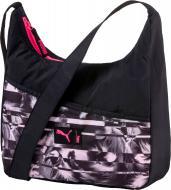 Сумка Puma Studio Small Shoulder Bag 7447601 черный с рисунком