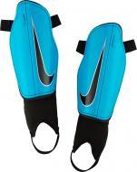Щитки футбольные Nike Charge Junior р. L синий