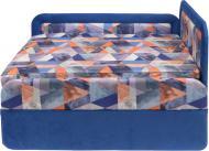 Тахта Берегиня Маріо права блакитна абстракція 970x750x660 мм